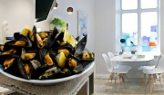 Mussels with Saffron Mayonnaise